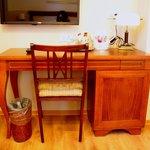 Desk in Superior room