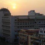 Diamond Hotel, Phnom Penh au lever du soleil