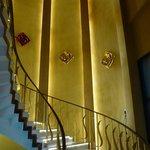 Diamond Hotel, l'escalier d'honneur