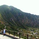 Overlooking Pollara, Isola Di Salin- stunning panorama, nothing but the silence of nature