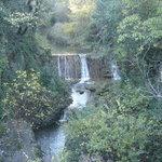 Village de Cotignac, la cascade