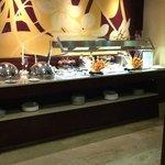 Buffet lounge privé