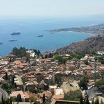 The stunning view from Villa Ducale!