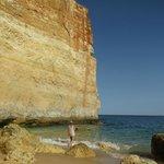 Benagil hidden gem of a striking scenery beach