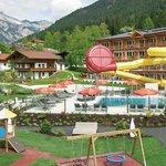 Hotelgelände Sommer