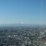 Mt Fuiji from TMG building, Tokyo
