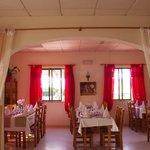 Una sala del restaurante