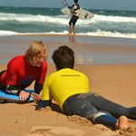 Bodyboard lesson - beginner level