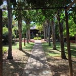 Entrance to Lidiko Lodge.