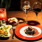 The Tournedos Rossini, of French beef or venaison. A winter must !