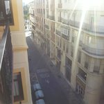 Sight from room - the street