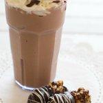 Chocolate Smoothie, thick and creamy - YUMM