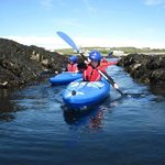 Kayaking in Rhoscolyn with BActive@Rhoscolyn