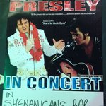 Elvis in concert at The Red Cow and Shenanigans