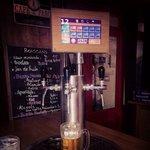 Tireuses à bière personnelle et tablette tactile