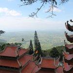 Вид с горы Таку