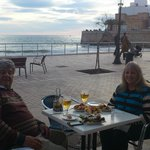 Sunday afternoon promende at Sitges
