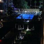 Quiet Pool at night
