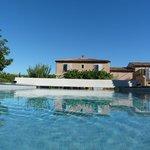 La Mas et la piscine