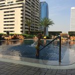 Rembrandt Hotel - at the pool