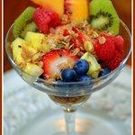 Fresh Fruit Parfait