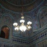 interno del mausoleo di Pakhlavan Makhmud