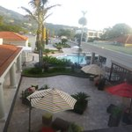 Vista piscina desde la habitación
