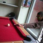 jugando pool contra Chile XD