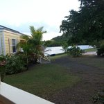 View of lagoon from in front of cottage 2