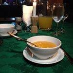 Una de las cenas. Primer plato sopa