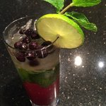 Saskatoon Berry Mojito