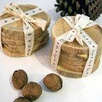 Posavasos madera de Boj