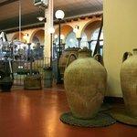 Particolare interni: Museo dell'olio