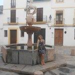 Plaza del Potro, a la vuelta del hotel