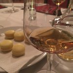 House made Macaroons and complimentary Armagnac