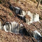 Ice on the way up...