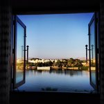 Spectacular view of Lake Pichola from room