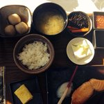 Awesome Japanese breakfast in the a la carte restaurant.