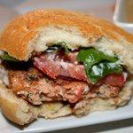 Trout burger