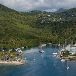 Beautiful Marigot Bay