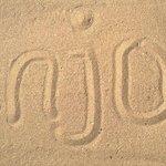 Das ist Sand, und kein Kiesel!! Einwandfrei!