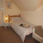 Night-time twin room