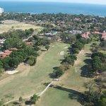 Coronado golf cours from neighboring high rise