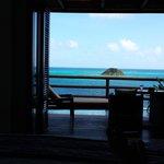 foto sacada desde la cama de la habitación luxury suite