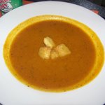 Squash soup perfect for recovery time.