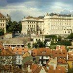 Penthouse - view of the Prague Castle