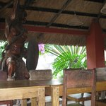 Cafe Dining with tropical feel