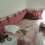 Camera da letto con letto divano