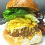 Jenna's Firecracker Burger (special, not on the menu)