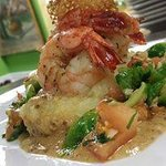Shrimp and Mashed Potatoes (special, not on the menu)